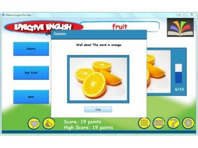 Effective English for kids 7.6 screenshot