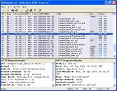 EffeTech HTTP Sniffer 4.1 screenshot