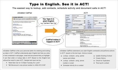 eGrabber CallPad 2007 screenshot
