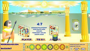 Egyptian Baccarat 1.0 screenshot