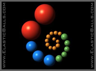 Elastic Balls, The Screen Saver 1.0 screenshot
