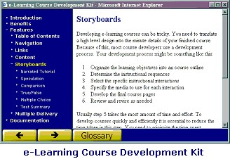 eLearning Authoring Tool 1.1 screenshot
