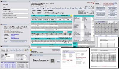 Electronic Pilot Logbook (U.S.) 2.1 screenshot
