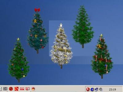 Elefun Screen-Mate :: Christmas-Fir! 1.010 screenshot