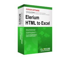 Elerium HTML to Excel .NET 1.7 screenshot