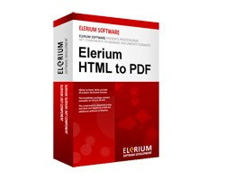 Elerium HTML to PDF .NET 2.6 screenshot