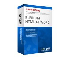 Elerium HTML to Word .NET 1.6 screenshot