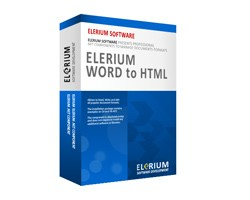 Elerium Word to HTML .NET 1.6 screenshot