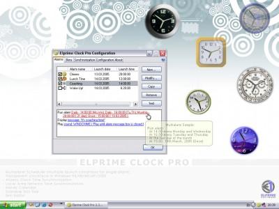 Elprime Clock Pro 2.5 screenshot