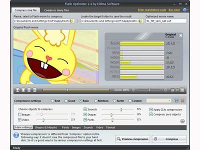 Eltima Flash Optimizer 2.0 screenshot