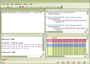 Eltima Serial Port Monitor 1.2 screenshot