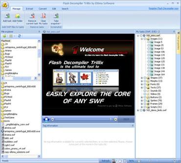 Eltima SWF Decompiler 4.0 screenshot
