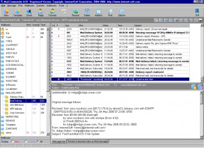 Email Commander 8.60 screenshot