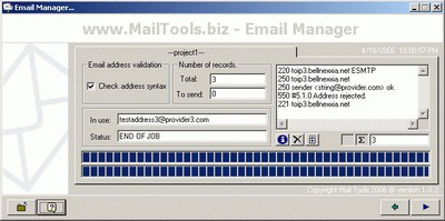 Email Manager 2.0.1 screenshot