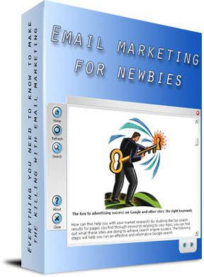 Email marketing for newbies 1.0 screenshot