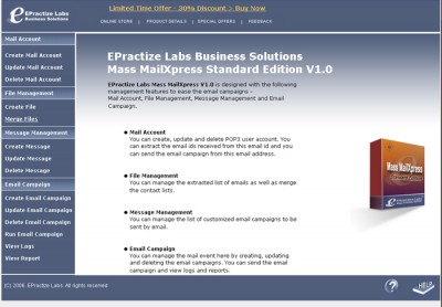 Email Marketing Software Standard Edition 1.0 screenshot
