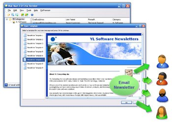 Email Marketing Software 3.1 screenshot
