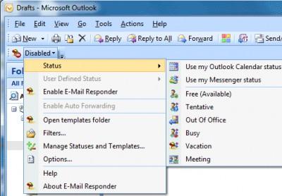 Email Responder for Microsoft Outlook 2.31.0139 screenshot