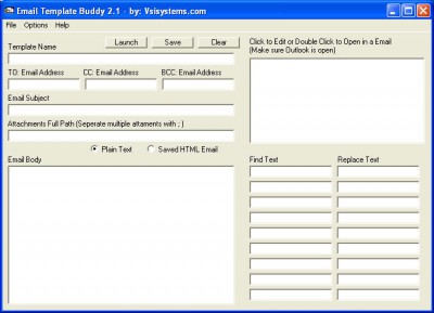 Email Template Buddy 2.1 screenshot