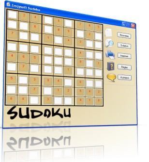 Emjysoft Sudoku 2.00 screenshot
