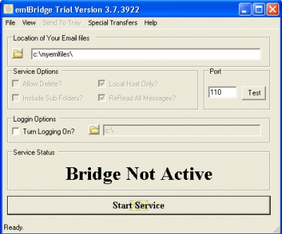 emlBridge 3.7.1 screenshot