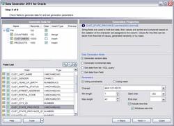 EMS Data Generator for Oracle 3.0 screenshot