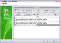 EMS Data Import for PostgreSQL 3.3 screenshot