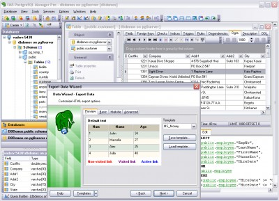 EMS SQL Manager 2005 for PostgreSQL 3.6 screenshot