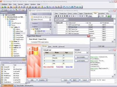 EMS SQL Manager 2005 Lite for SQL Server 2.7 screenshot