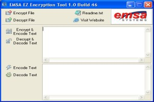Emsa EZ Encryption Tool 1.0.46 screenshot