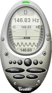 enable Guitar Tuner 4.0 screenshot
