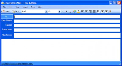 encrypted::Mail 2.0 screenshot
