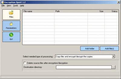 Encryption Xpert 1.2 screenshot