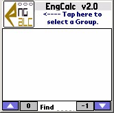 EngCalc(Pipe Flow)- PalmOS Calculator 2.0 screenshot