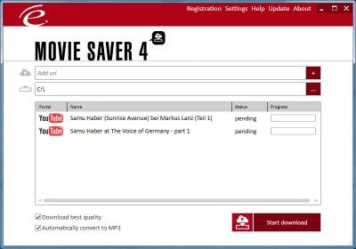 Engelmann Media MovieSaver 4 screenshot