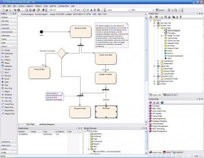 Enterprise Architect for UML 2.0 v6.1 screenshot