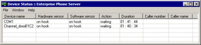 Enterprise Phone Server 1.3.9565 screenshot
