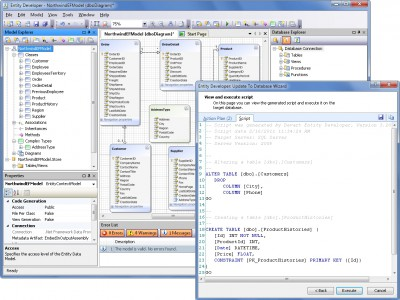 Entity Developer for LINQ to SQL 6.1 screenshot