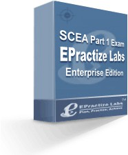 EPractize Labs SCEA Part 1 Exam Preparation Kit/Si 1.0 screenshot