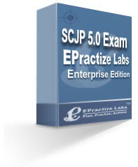 EPractize Labs SCJP 5.0 Exam Preparation Kit/Simul 1.0 screenshot