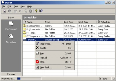 Eraser 5.3 screenshot