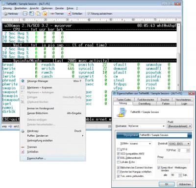 Erics TelNet98 28.1-SSH screenshot