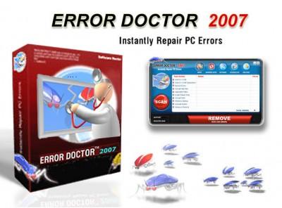 Error Doctor PC Fix 2007.05 screenshot