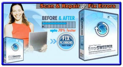ERROR SCAN AND SWEEP 2011.00216 screenshot