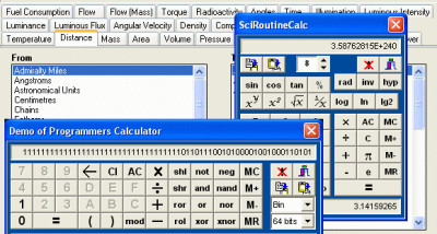 ESBPCS-Calcs for VCL 6.9.0 screenshot