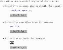 EScrambler - Webmaster Antispam Utility 2.10.04 screenshot
