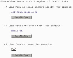 EScrambler, Webmaster Antispam Utility 2.10.04 screenshot