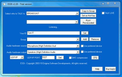 ESDi 1.19 screenshot