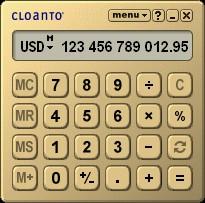 Euro Calculator 3.5.9.1 screenshot