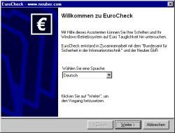 EuroCheck 1.4 screenshot